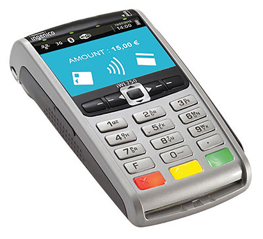 eftpos-machine-INGENICO iWL252 Bluetooth