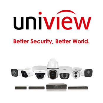 Uniview 4 CCTV Camera Package - Business Lowlight
